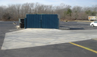 Dumpster Pad and Loading-dock